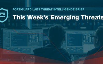 FortiGuard Threat Intelligence Brief – September 18, 2020